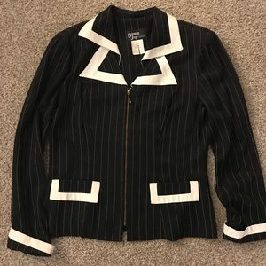 Pinstripe Suit/Costume-Lady Shylock-Lady Gangster